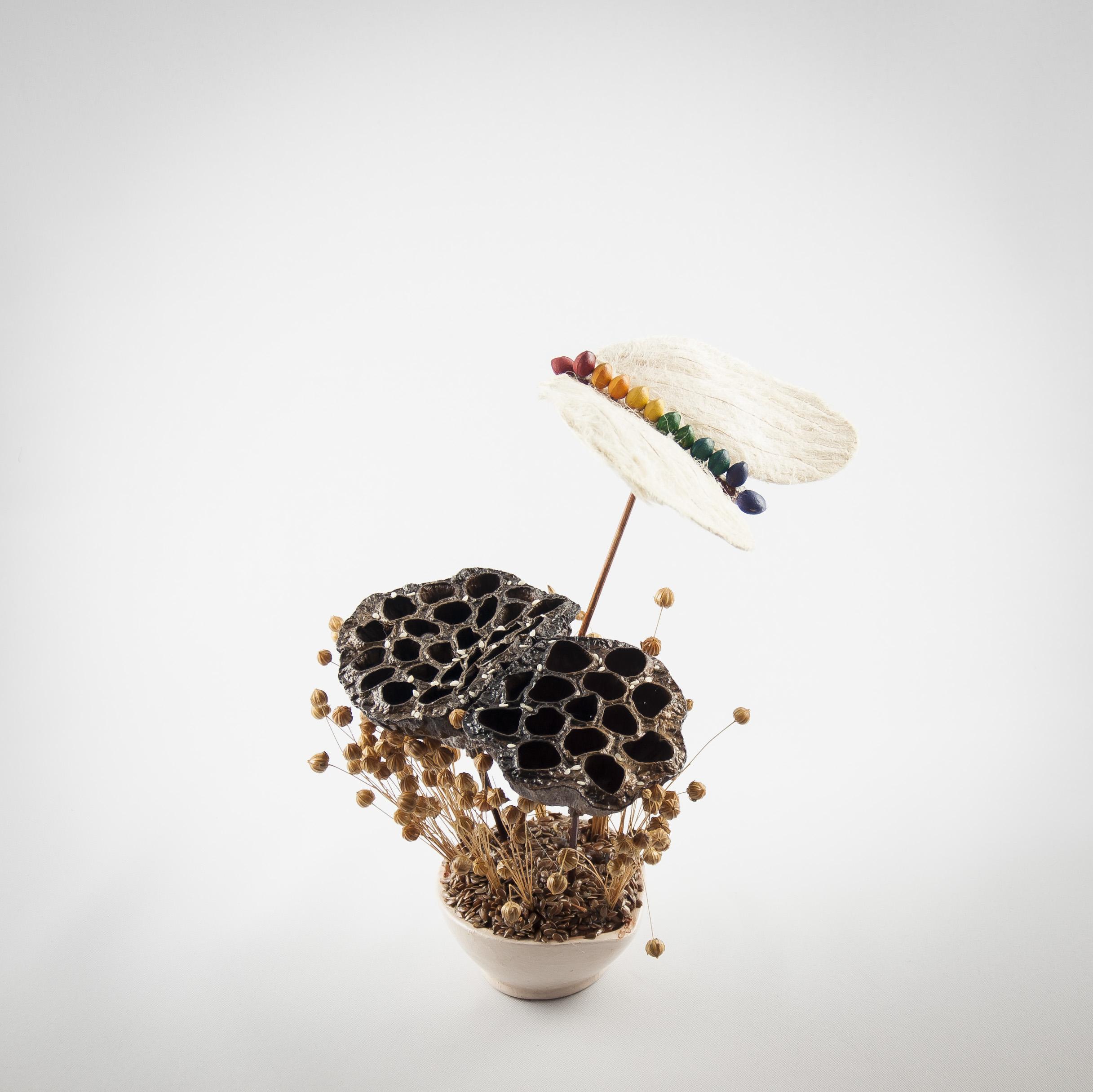bukiet z kwiatu lotosu
